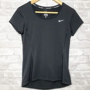Nike Dri-Fit Short Sleeve Workout Sports Top - S
